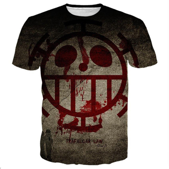 T-Shirt Trafalgar Law Heart