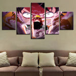 Poster 5 pcs Luffy Gear Second - fandemanga.com