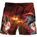 Short de Bain Dragon Ball Z - fandemanga