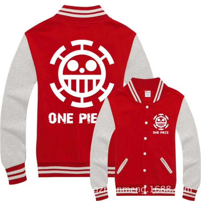 Sweat-Shirt Trafalgar Law Uniform - fandemanga.com