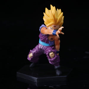 Lot de 4 Figurines Dragon ball Z 41ème génération - fandemanga