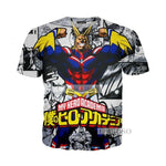 T-Shirt All Might - fandemanga