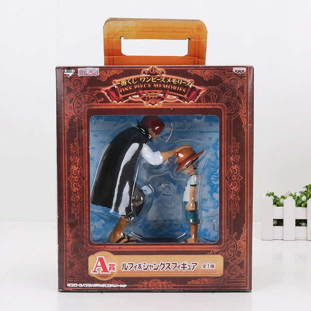 Figurine Shanks & Luffy - fandemanga