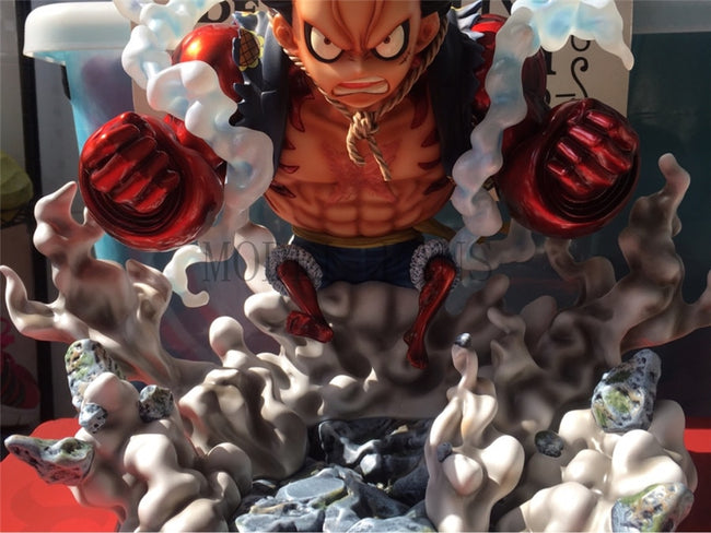 Figurine Résine Monkey D Luffy Gear Fourth - fandemanga.com