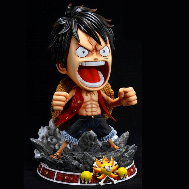 Figurine Résine Monkey D Luffy Gear 3 Réduction - fandemanga.com
