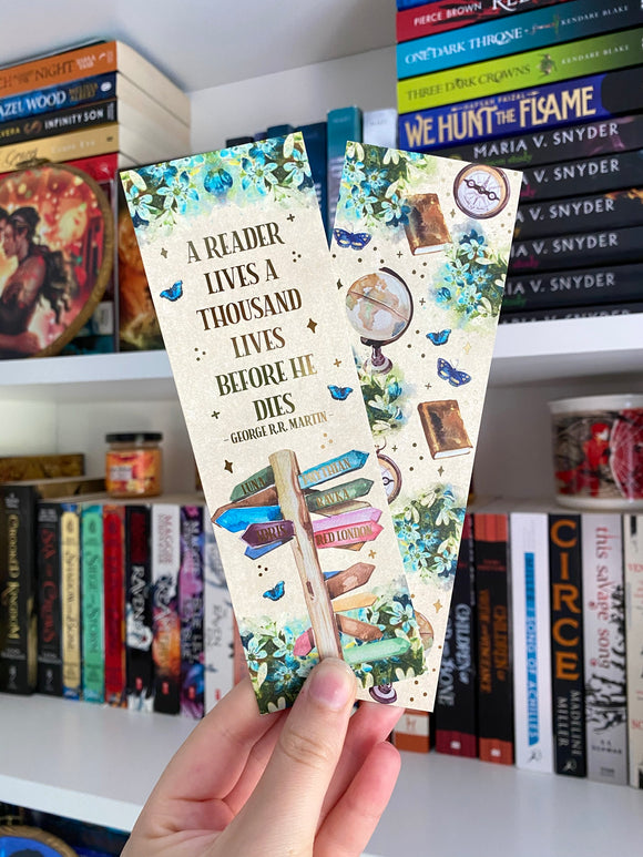 A Thousand Lives Bookmark