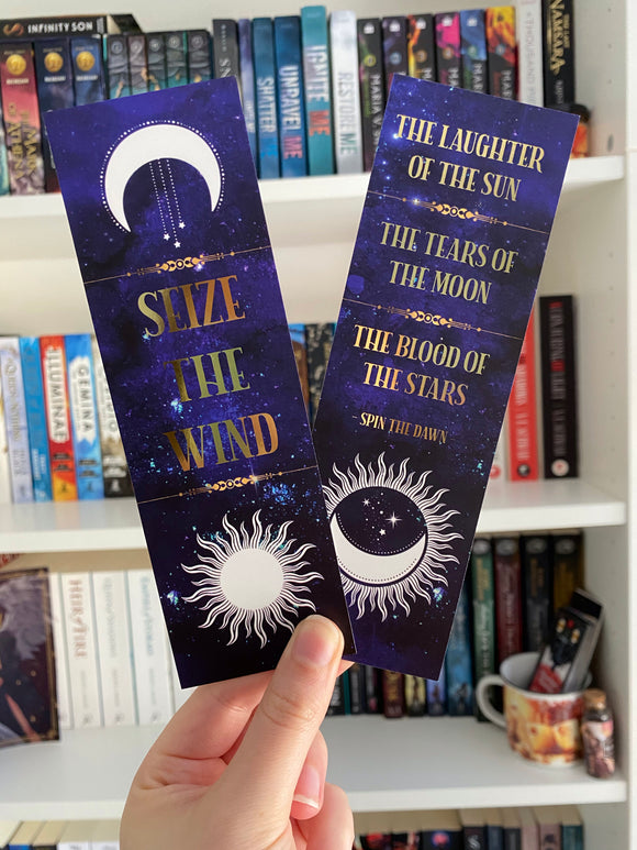 Seize the Wind Bookmark