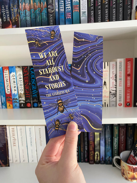 Stardust and Stories Bookmark