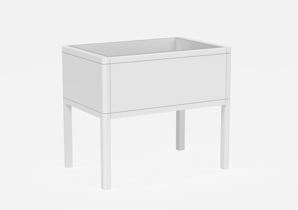 FR080F.MW - Saneux FRONTIER Floor Standing vanity unit - 800mm - Matte White
