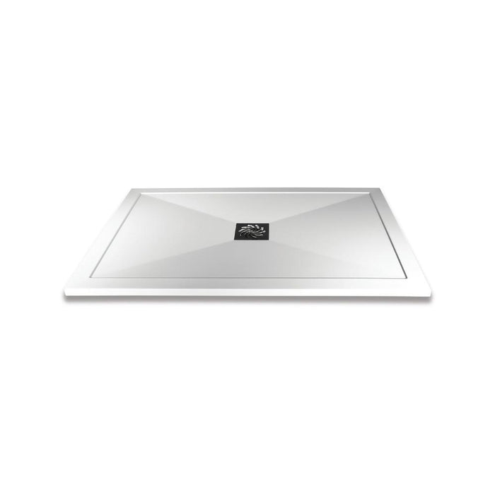 H2505 - Saneux H25 Shower Tray - 1000mm x 900mm - Gloss White