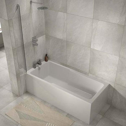 The White Space I-Bath Single Ended Shower Bath 1700mm X 750mm - IBA1775