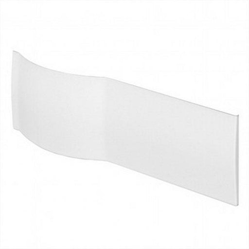 Kartell Adapt P-Shaped Bath Front Panel - 1700mm - White