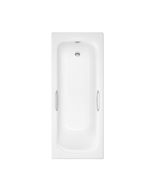 Kartell Alpha Twin Gripped Bath - 1700mm x 700mm - white