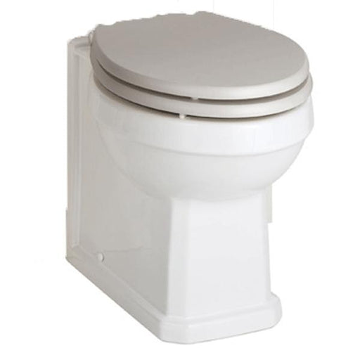 Kartell Astley Back to Wall Toilet - White
