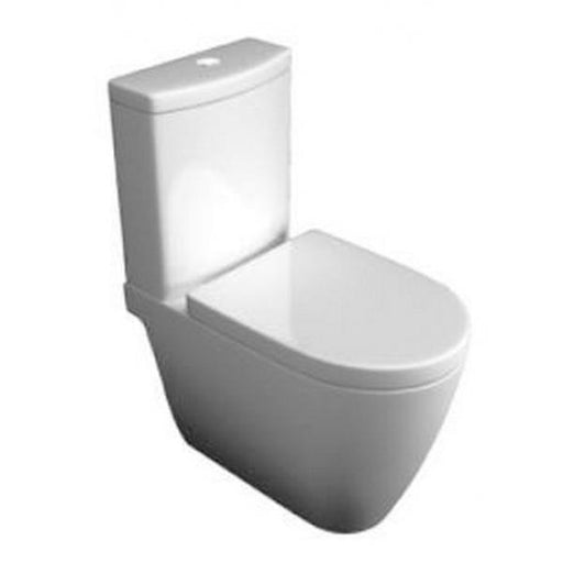 Kartell Genoa Close Coupled Toilet - Cistern - Soft Close Seat - White