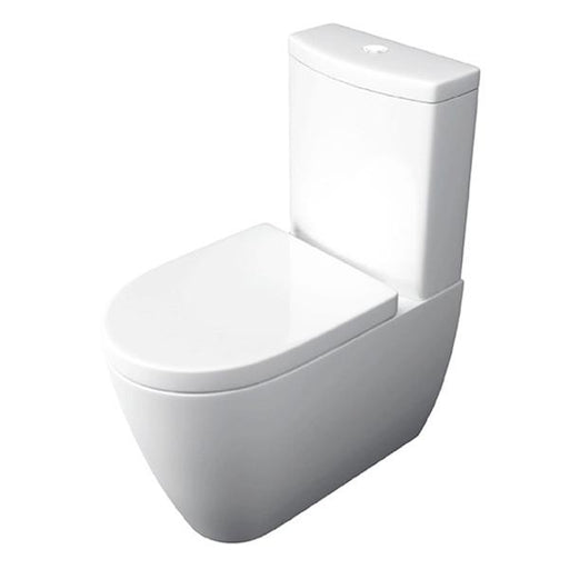 Kartell Genoa Close to Wall Close Couple Toilet - Cistern - Soft Close Seat