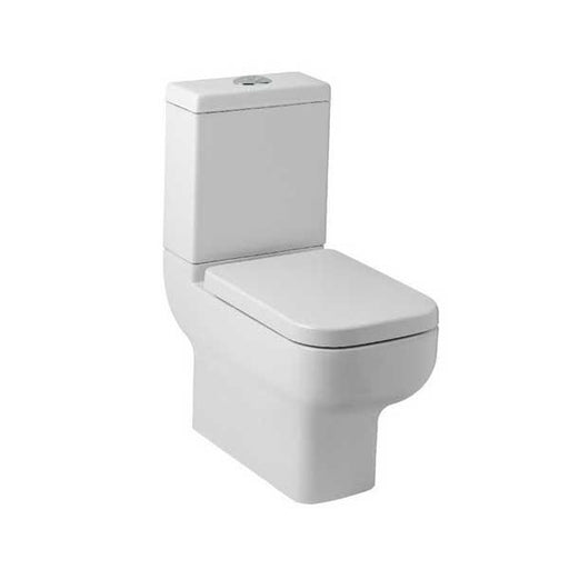 Kartell Options 600 Close to wall Close Coupled Toilet - Cistern - Soft Close Seat - White