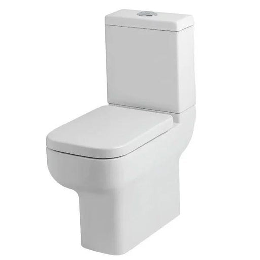 Kartell Options Comfort Height Close Coupled Toilet - Cistern - Premium Close Seat - White