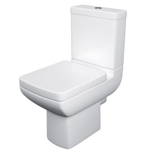 Kartell Pure Close Coupled Toilet - Cistern - Soft Close Seat - White