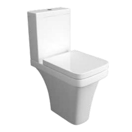 Kartell Sicily Comfort Height Close Couple Toilet - Cistern - Soft Close Seat