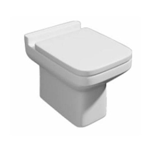 Kartell Trim Back To Wall Toilet - Soft Close Seat - White