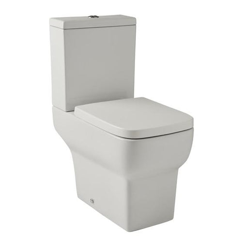 Kartell Korsika Close Coupled Toilet With Cistern - Soft Close Seat - White