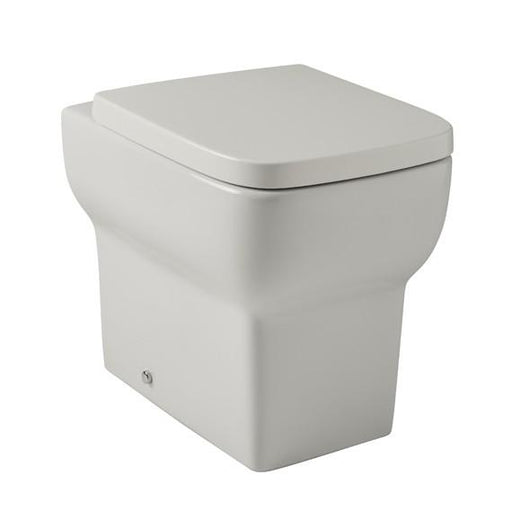 Kartell Korsika Back to Wall Toilet - Soft Close Seat - White