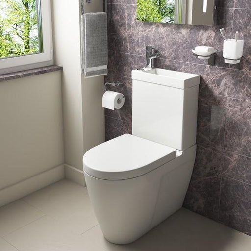 Kartell Combi 2-in-1 Mini Toilet - Soft Close Seat - White