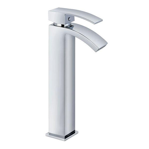 Kartell Flair Hi Rise Mono Basin Mixer Tap Chrome
