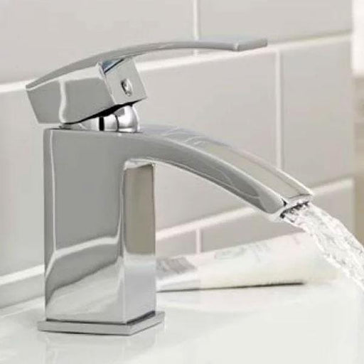 Kartell Flair Mono Basin Mixer Tap Chrome