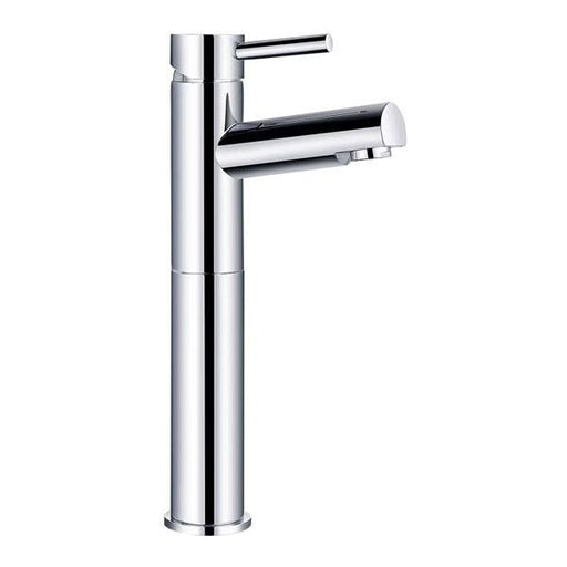Kartell Plan Hi-Rise Mono Basin Mixer Tap Chrome