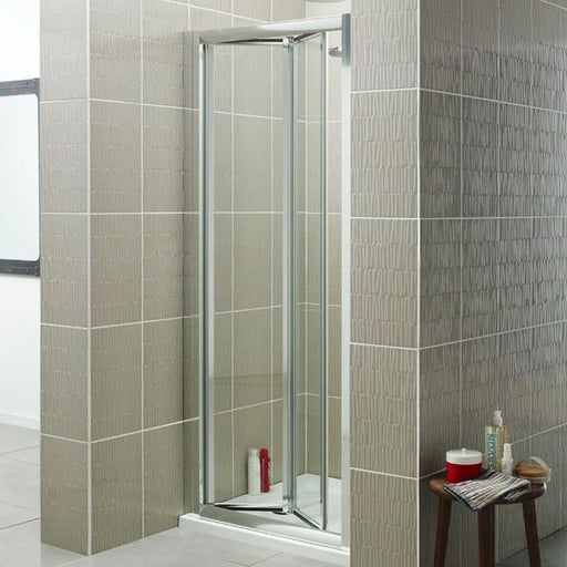 Kartell Koncept Bi-Fold Shower Door - 800mm Wide - 4mm Glass