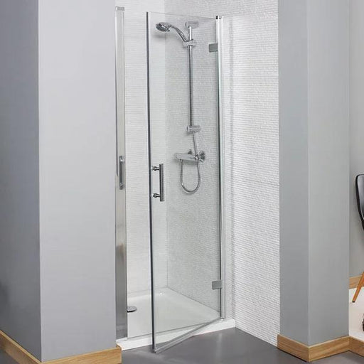 Kartell Koncept Hinged Shower Door - 760mm Wide - 6mm Glass