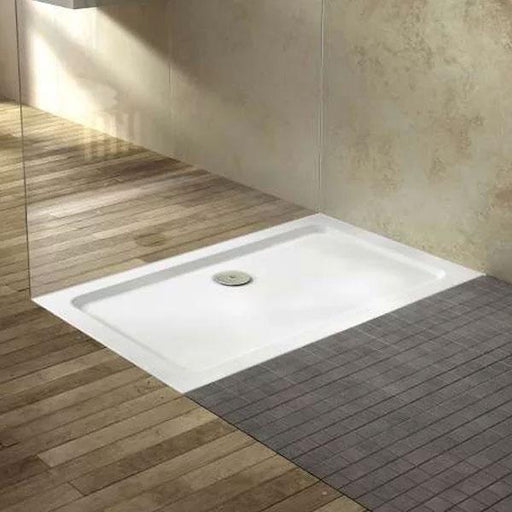 Kartell KT35 Rectangular Shower Tray - 900mm x 800mm - White