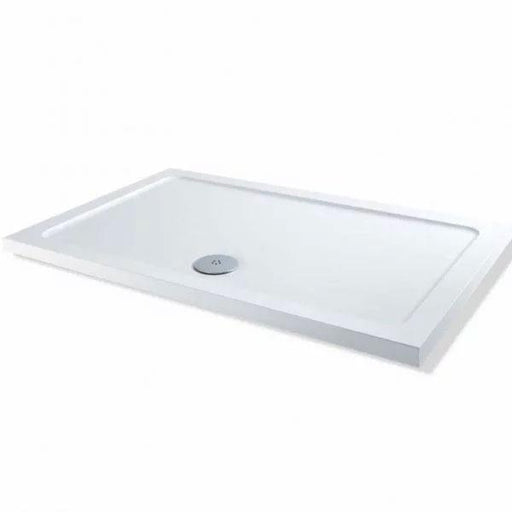 Kartell KT35 Rectangular Shower Tray - 900mm x 700mm - White