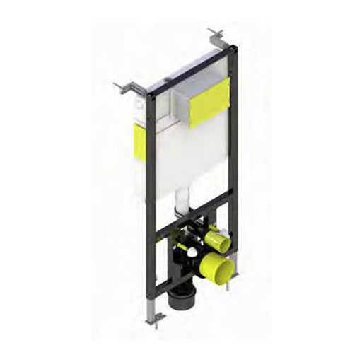 Kartell Keytec WC Frame with Front Access Dual Flush Cistern - 350mm Wide