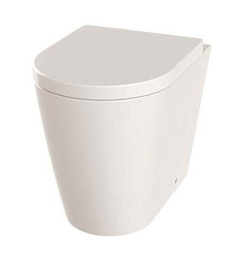 The White Space Lab Rimless Back To Wall Wc Pan - LABW1