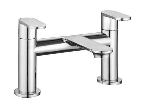 The White Space True Brassware Bath Filler - LEV03
