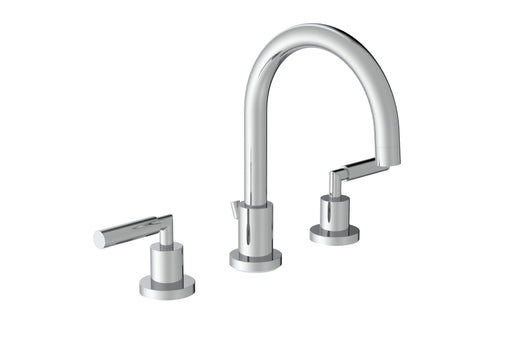 TE420 - Saneux 3 Piece Basin Mixer Tap With Pop-Up Waste - Chrome