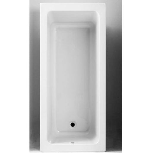 The White Space Vale Single Ended Bath - 1800mm X 800mm - VAL1880