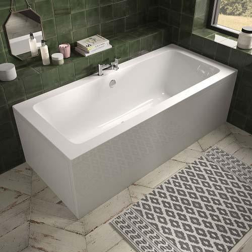 The White Space End Bath Panel - 750mm WSBP75