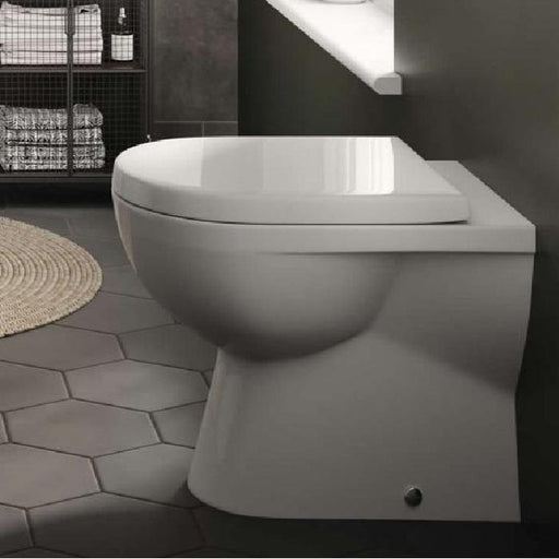 The White Space Scene Comfort Height Back To Wall Toilet - WSSSP06