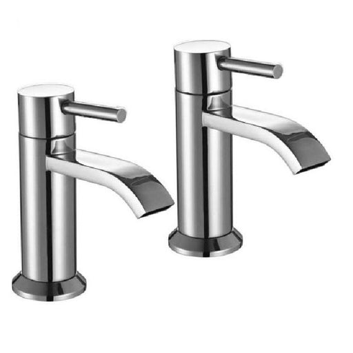 The White Space Fall Basin Pillar Tap - Pair - WSTF52