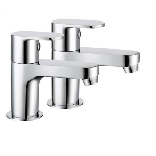 The White Space Leva Basin Pillar Tap - Pair - WSTL02