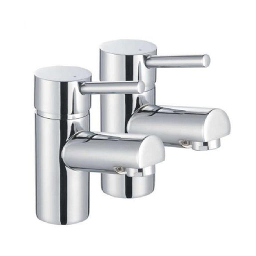 The White Space Pin Basin Pillar Tap - Pair - WSTP03