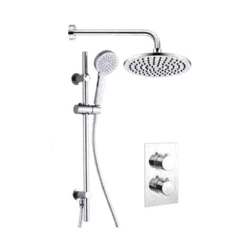 The White Space Dc Shower Arm - Chrome WSV002