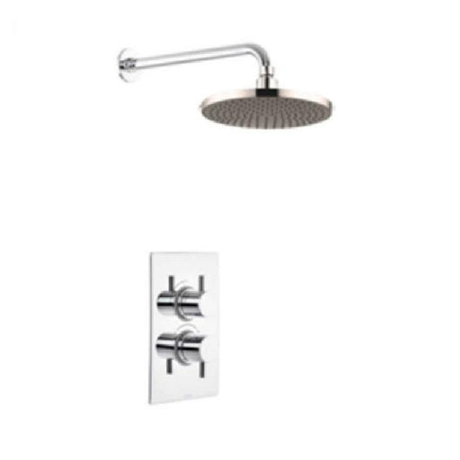 The White Space Dc Dual Shower Valve With Head Shower - WSVD01