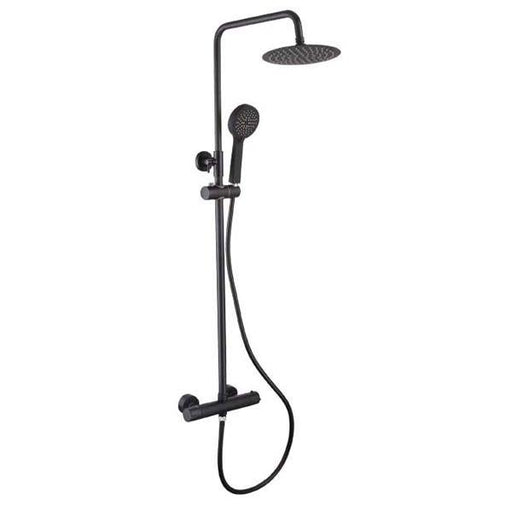 The White Space Yes Bar Shower Mixer With Integral Fixed Head And Shower Kit - YES1B