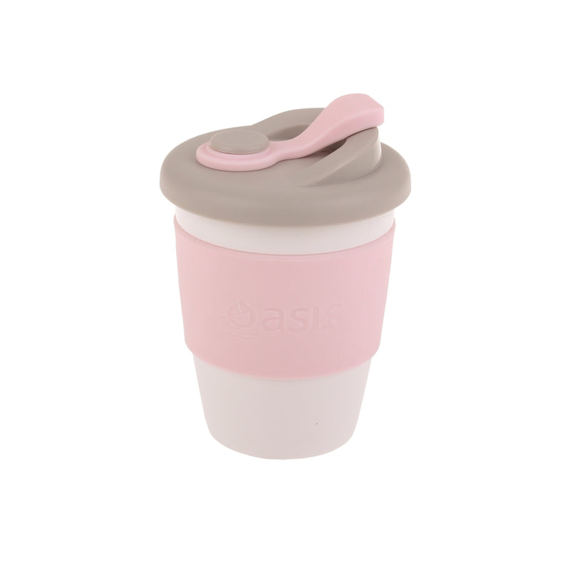 Eco Cup Biodegradable Travel Mug 340ml - Pink
