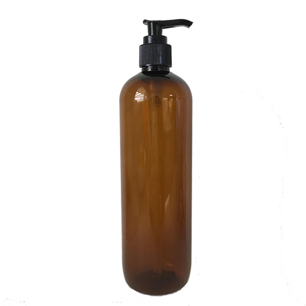 500ml Plastic Bottle with Lotion Pump